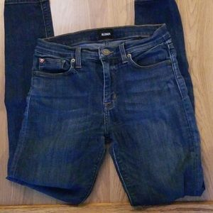 HUDSON Natalie mid rise skinny jeans ankle 27 4